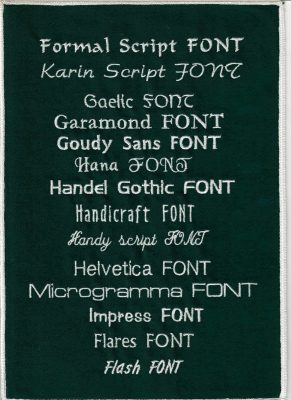 Embroidery Fonts 4