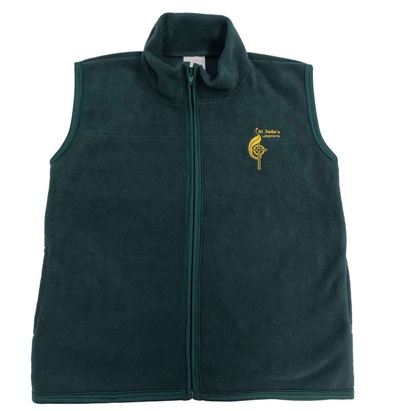 Polar Fleece Vest St. Judes Primary School